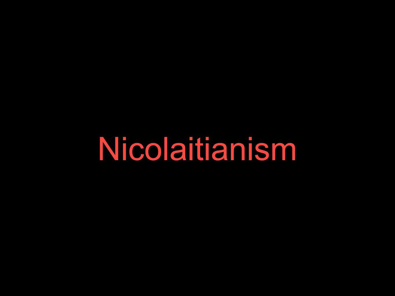 Nicolaitianism