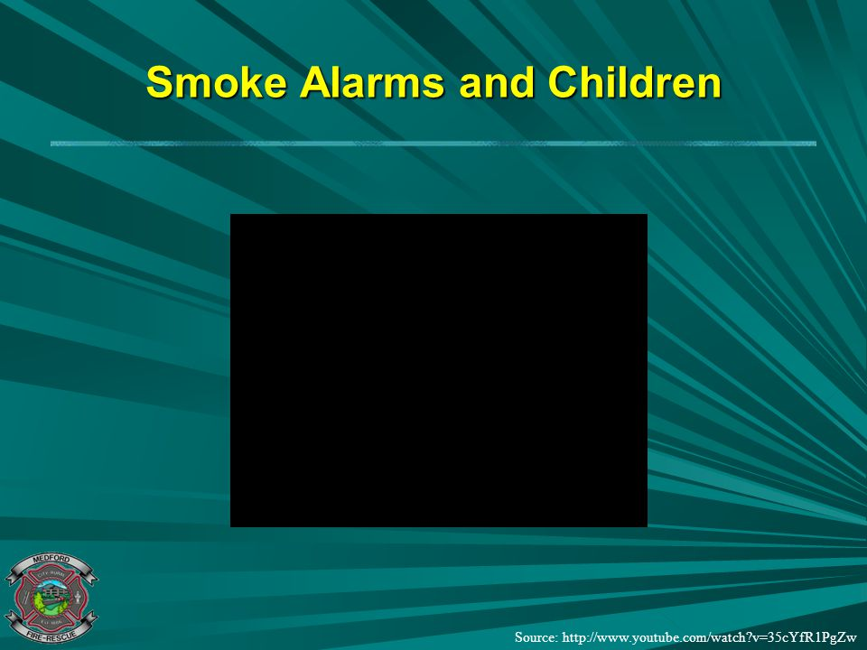 Smoke Alarms and Children