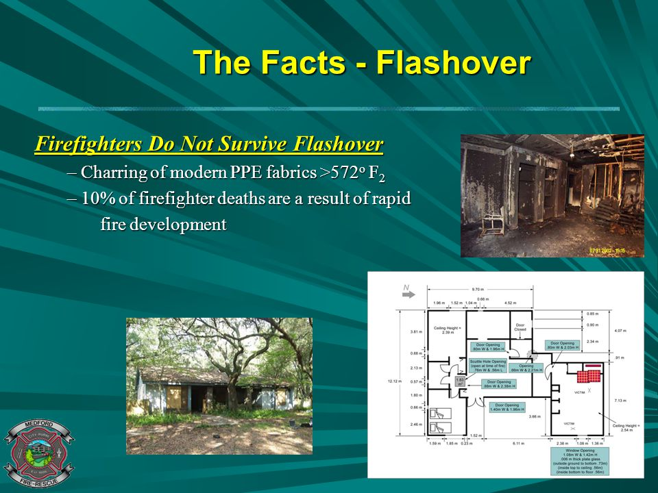 The Facts - Flashover Firefighters Do Not Survive Flashover