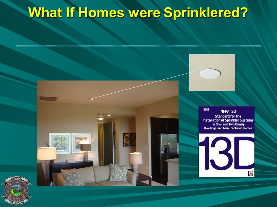 What If Homes were Sprinklered