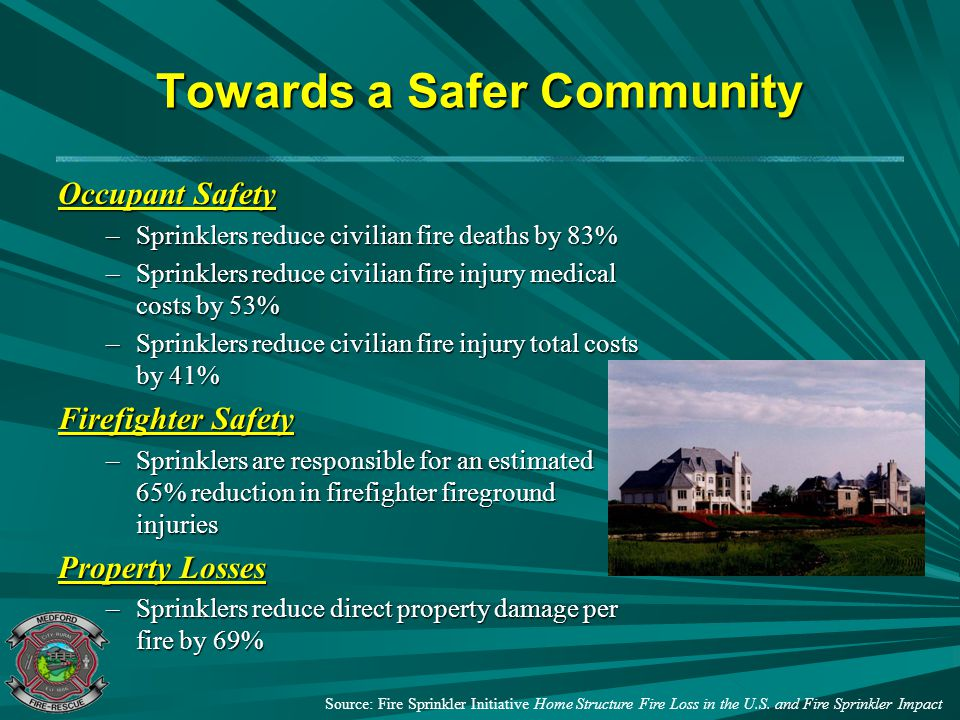 Towards a Safer Community