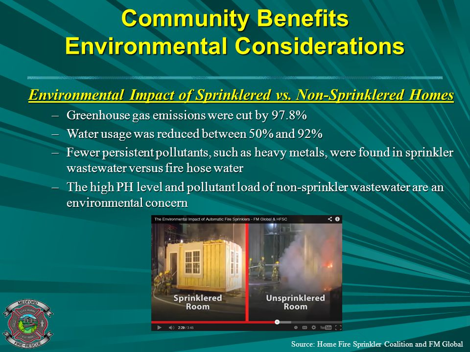 Community Benefits Environmental Considerations