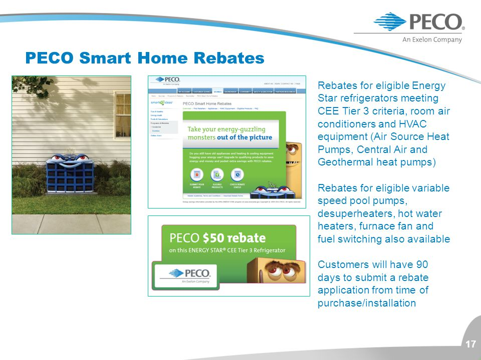 PECO Smart Home Rebates