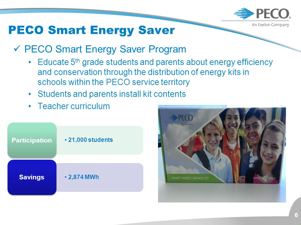 PECO Smart Energy Saver