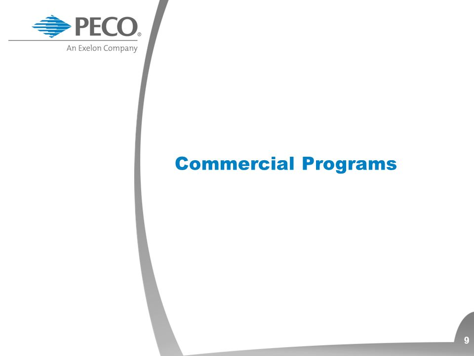 Commercial Programs 9