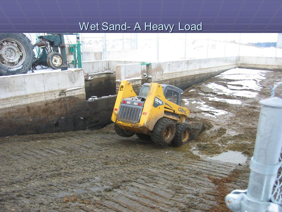 Wet Sand- A Heavy Load