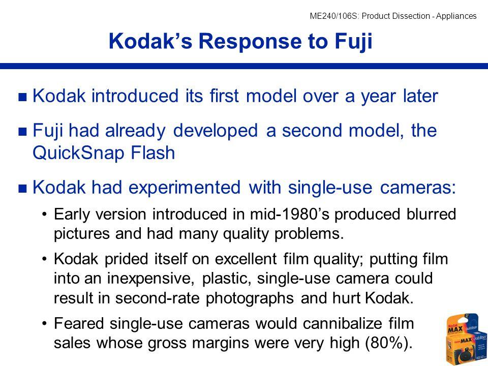Kodak's Response to Fuji