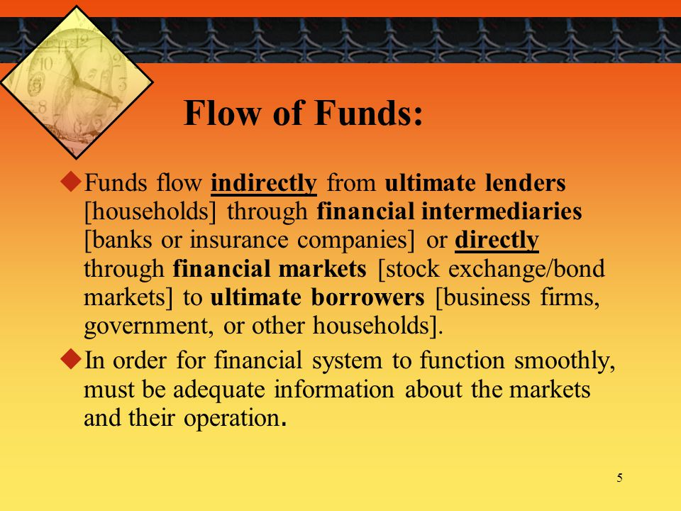 Flow of Funds:
