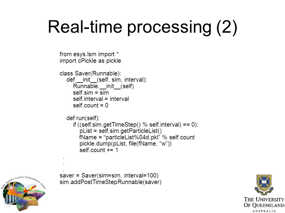 Real-time processing (2)