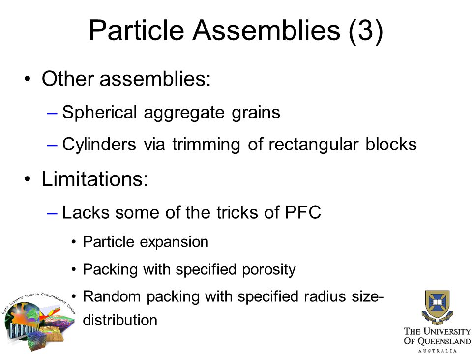 Particle Assemblies (3)