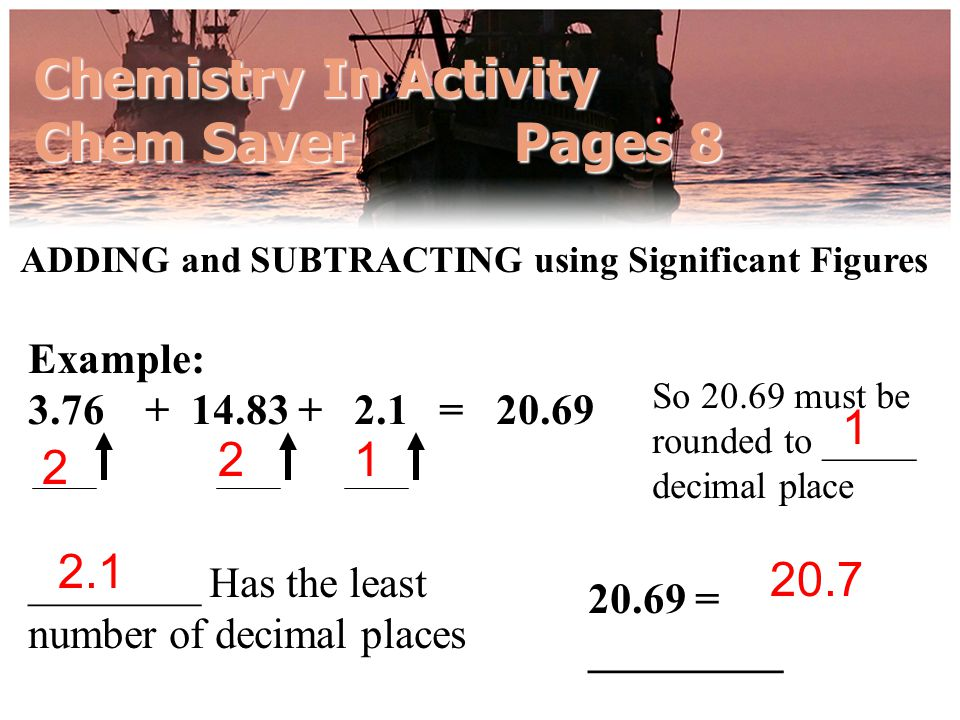 Chemistry In Activity Chem Saver Pages 8
