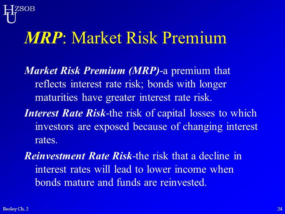 MRP: Market Risk Premium