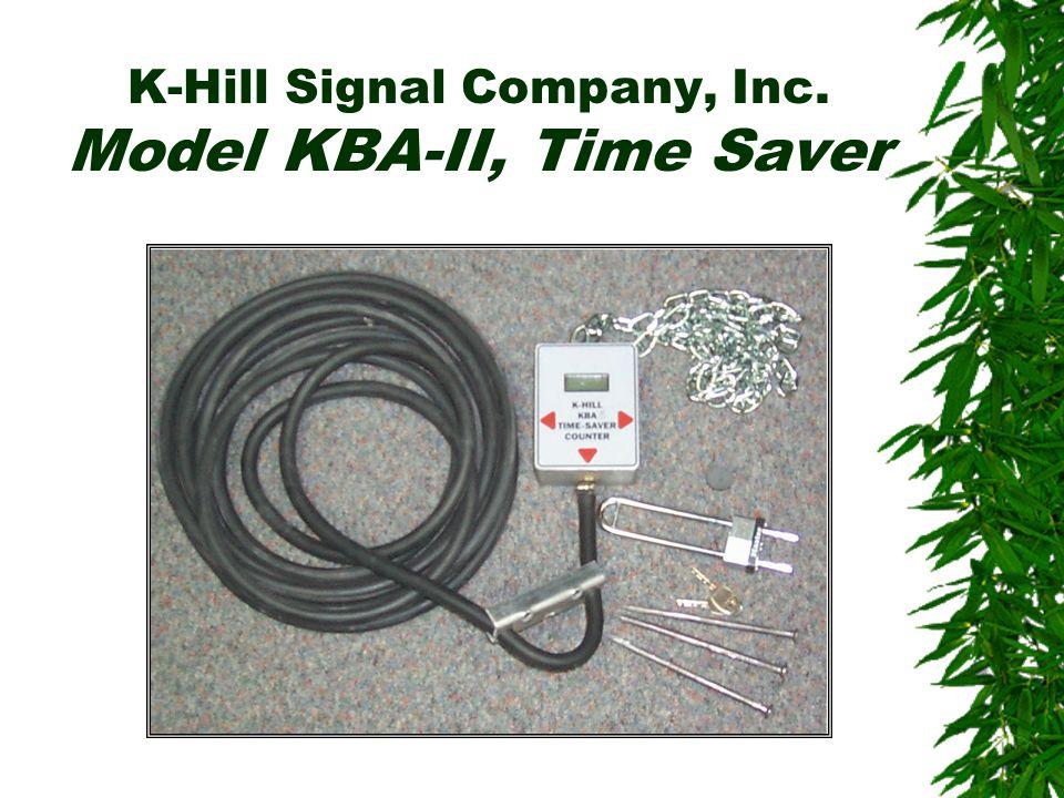 K-Hill Signal Company, Inc. Model KBA-II, Time Saver