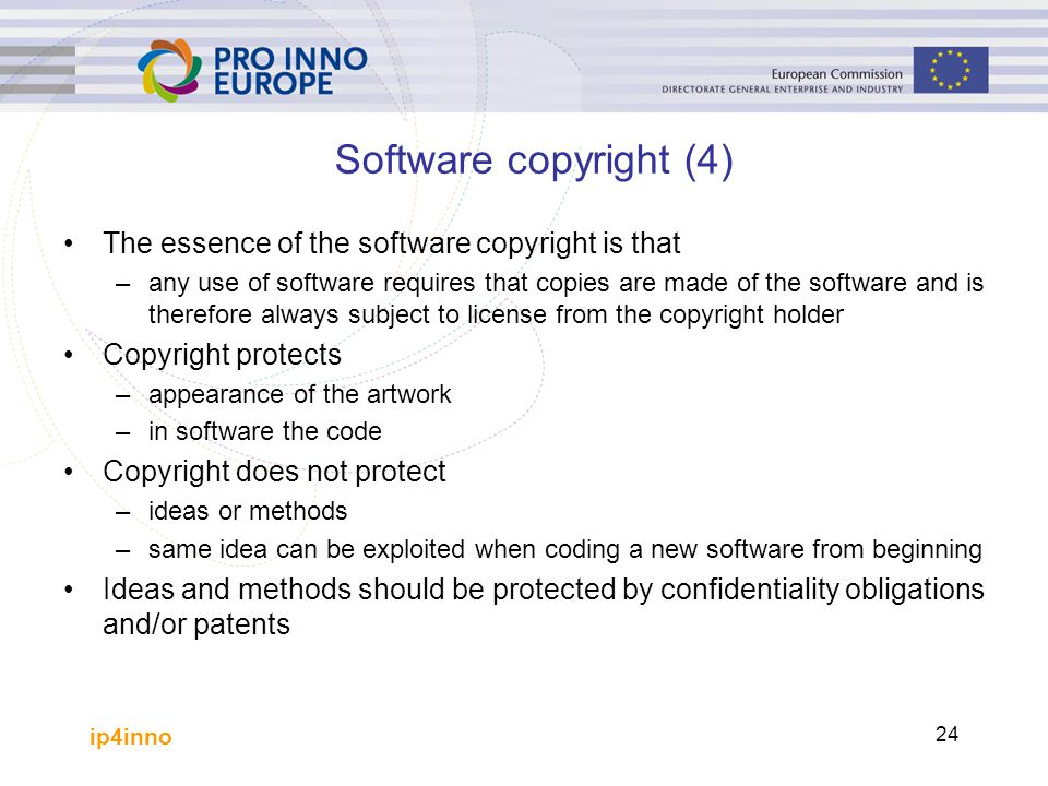 Software copyright (4) The essence of the software copyright is that