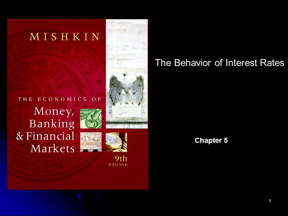 The Behavior of Interest Rates
