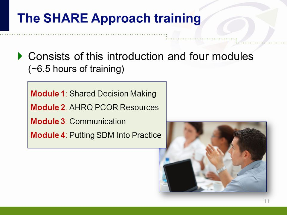 The SHARE Approach training