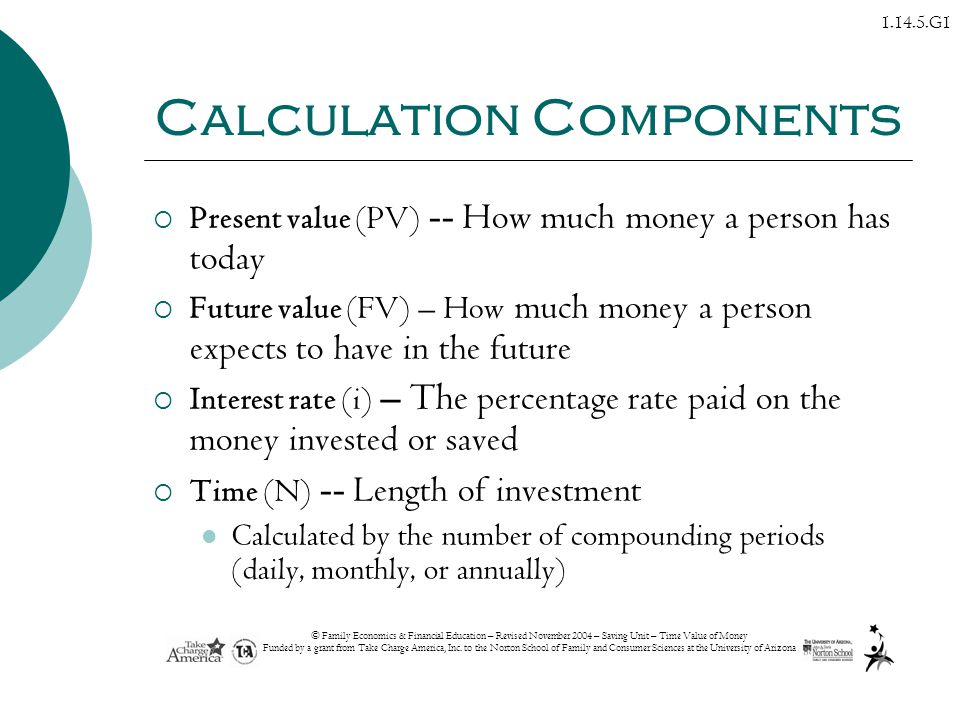 Calculation Components