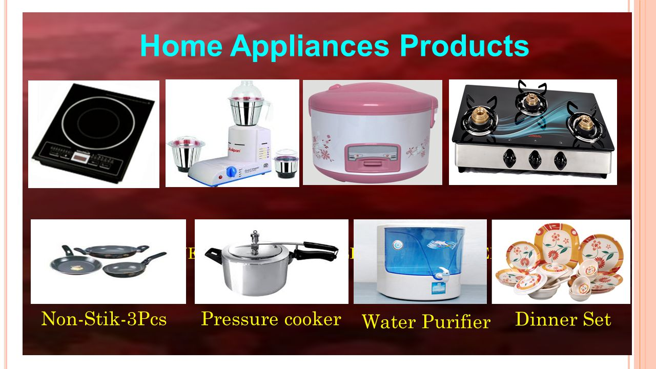Induction Stove / Mixer Grinder / Rice Cooker