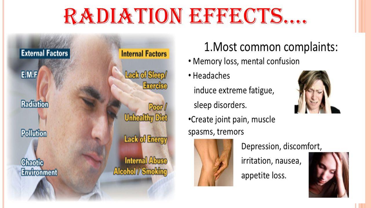 Radiation effects….