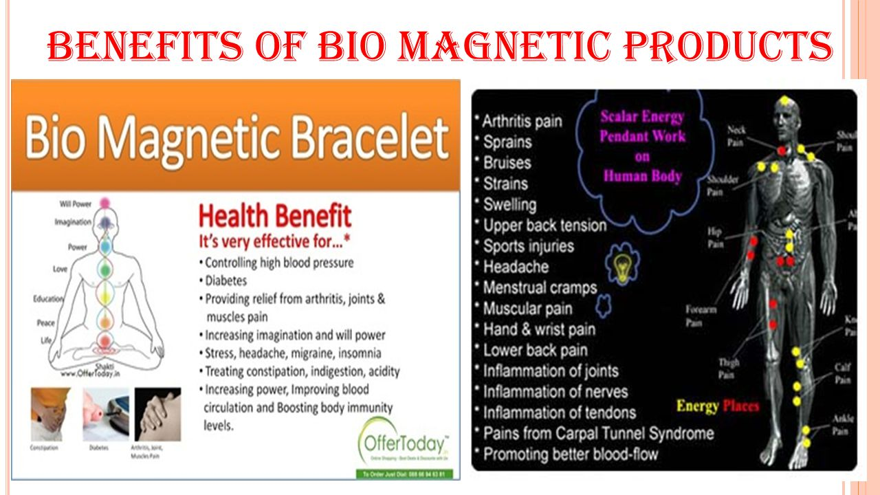 Benefits of bio magnetic products