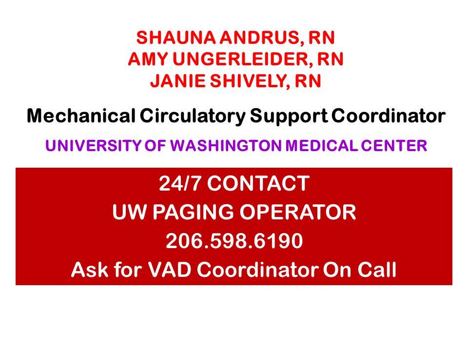 NAHUSH MOKADAM, MD office 206.543.3093 Paging operator 206.598.6190