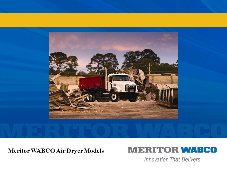 Meritor WABCO Air Dryer Models