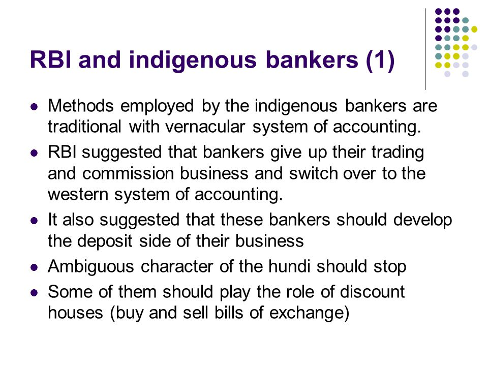 RBI and indigenous bankers (1)