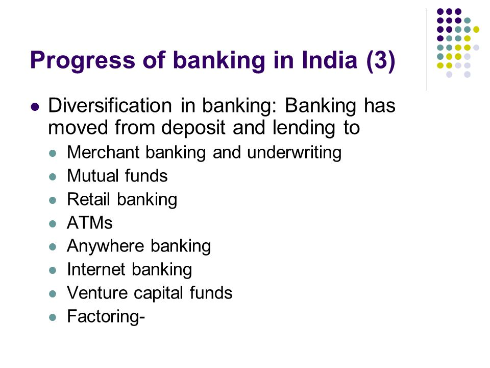 Progress of banking in India (3)