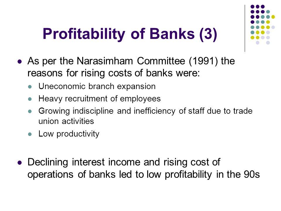 Profitability of Banks (3)