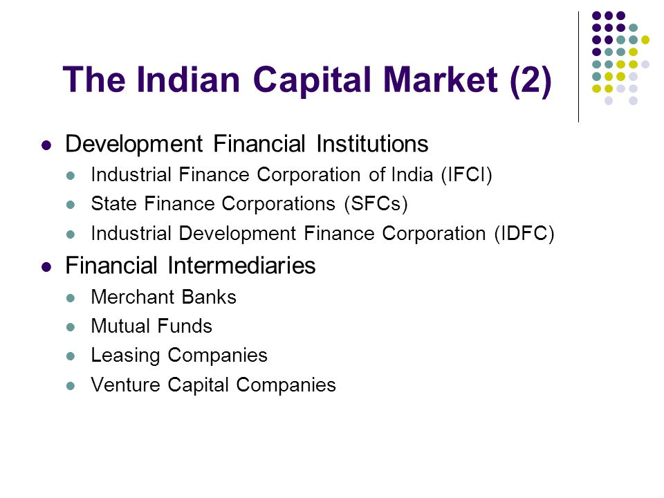 The Indian Capital Market (2)