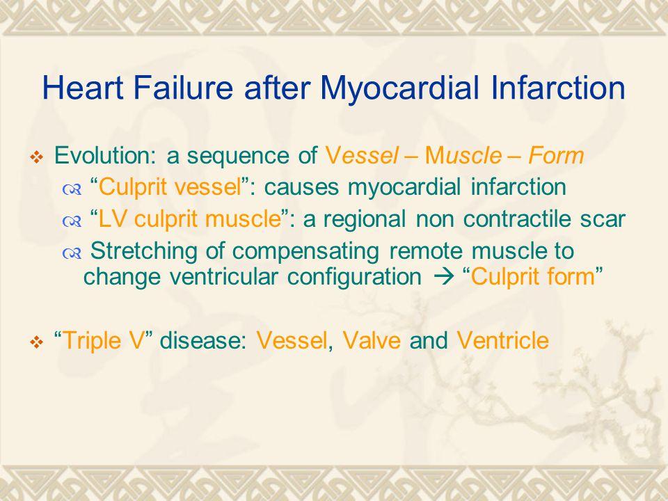 Heart Failure after Myocardial Infarction