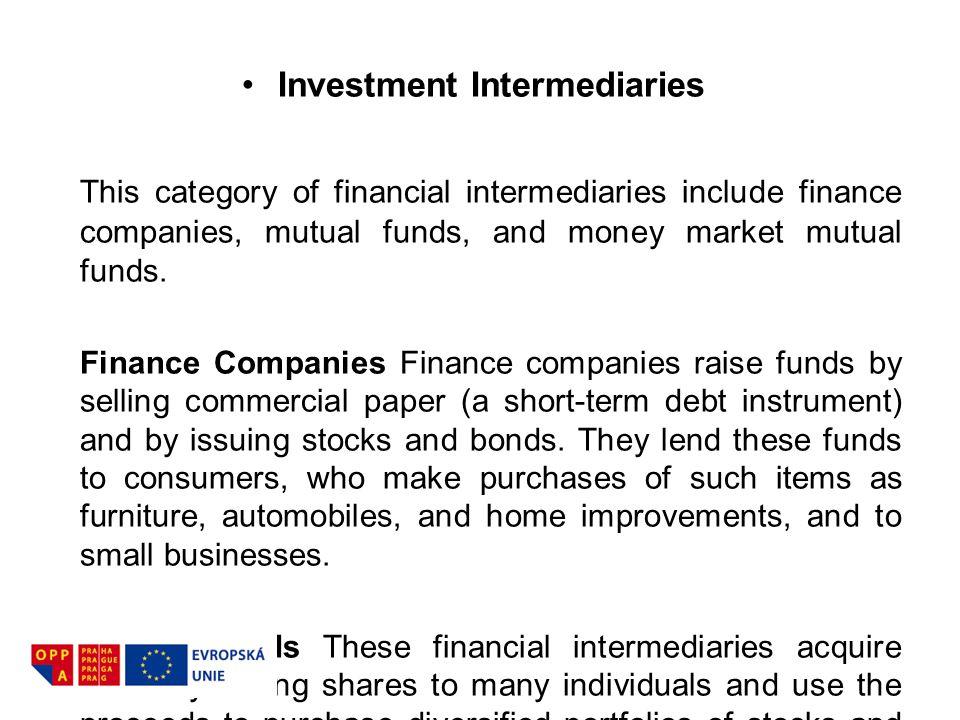 Investment Intermediaries