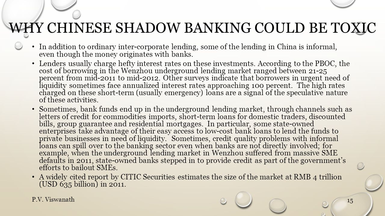 why Chinese shadow banking could be toxic