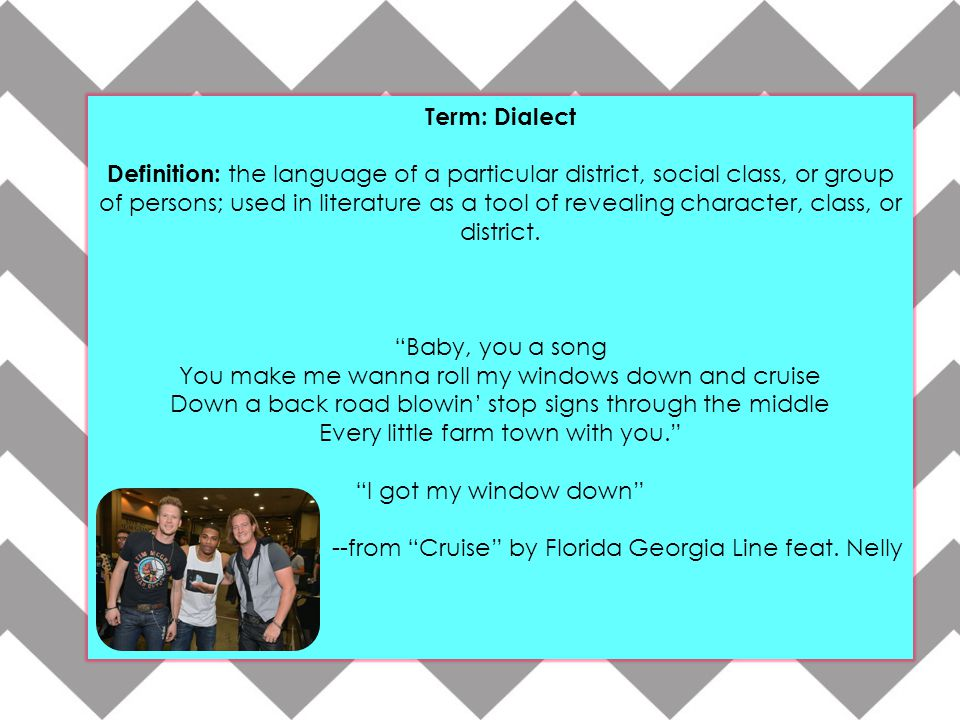 Term: Dialect
