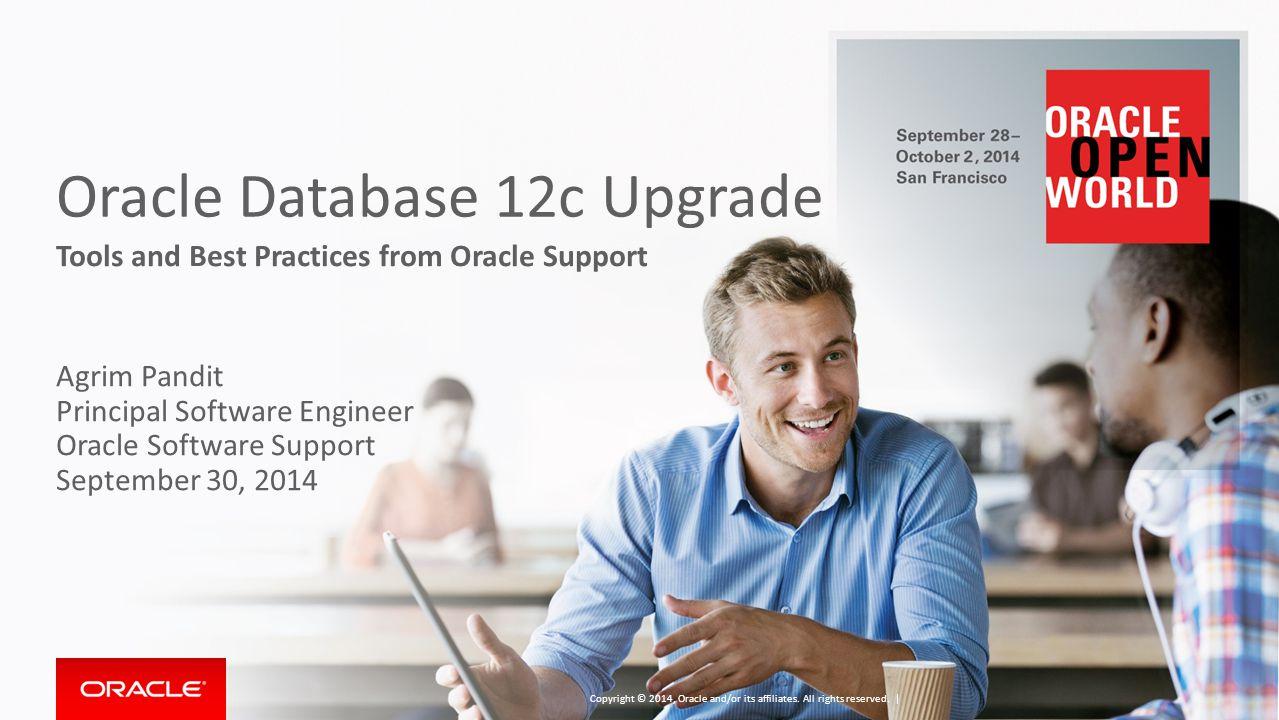 Oracle Database 12c Upgrade