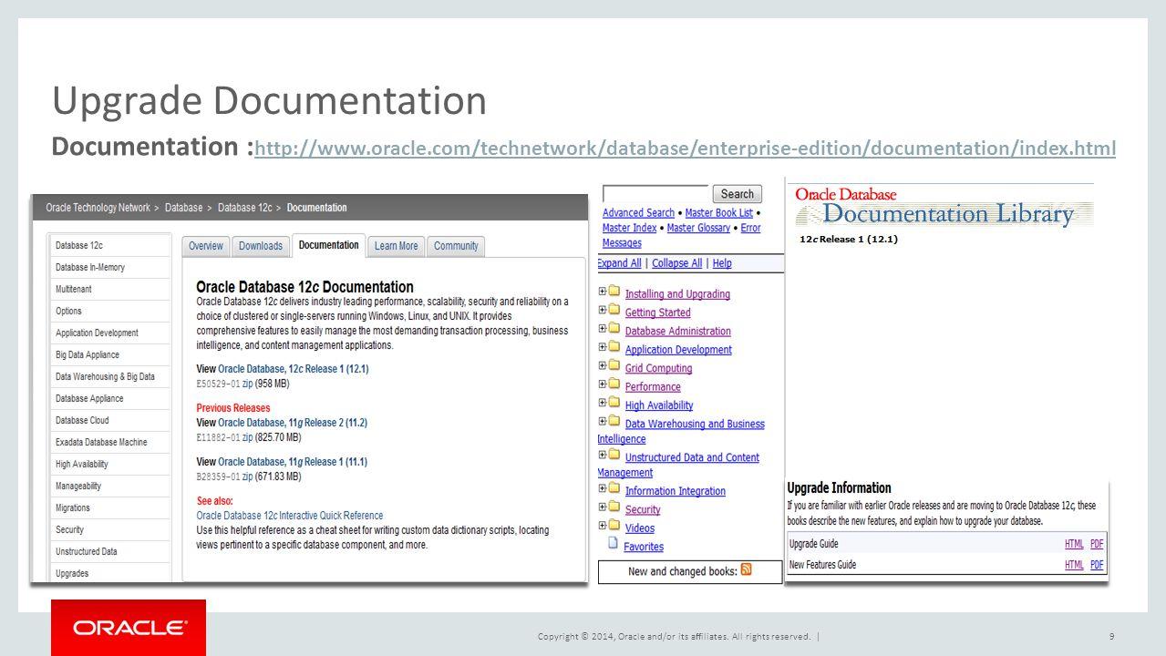 Upgrade Documentation