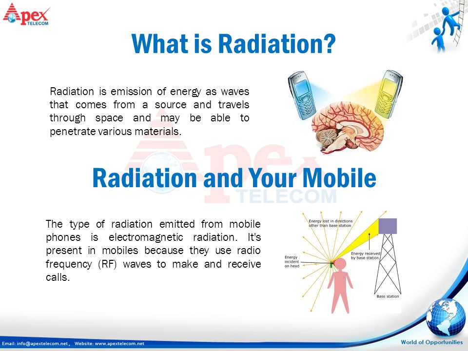 Radiation and Your Mobile