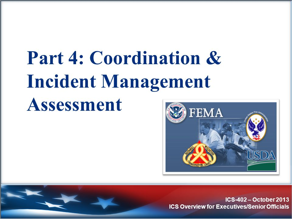 Part 4: Coordination & Incident Management Assessment