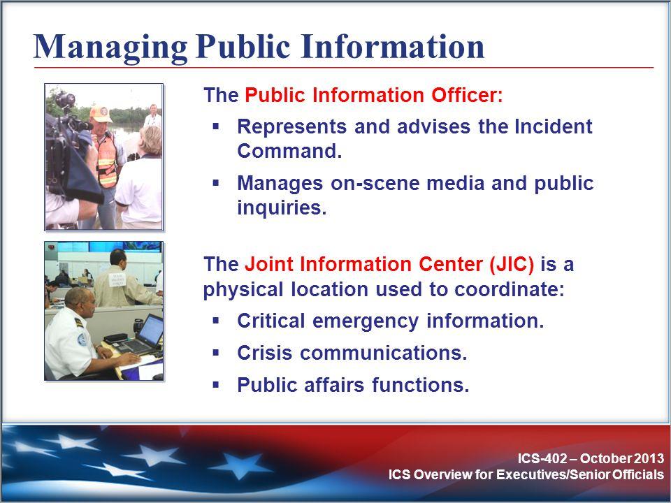 Managing Public Information