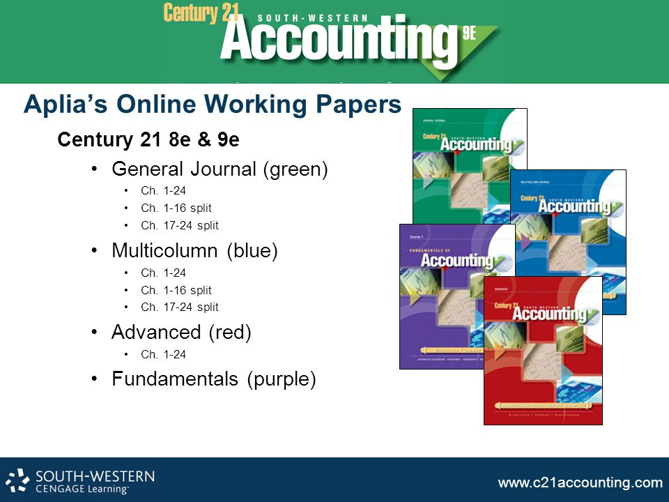 Aplia's Online Working Papers