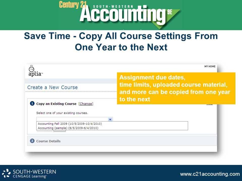 Save Time - Copy All Course Settings From One Year to the Next