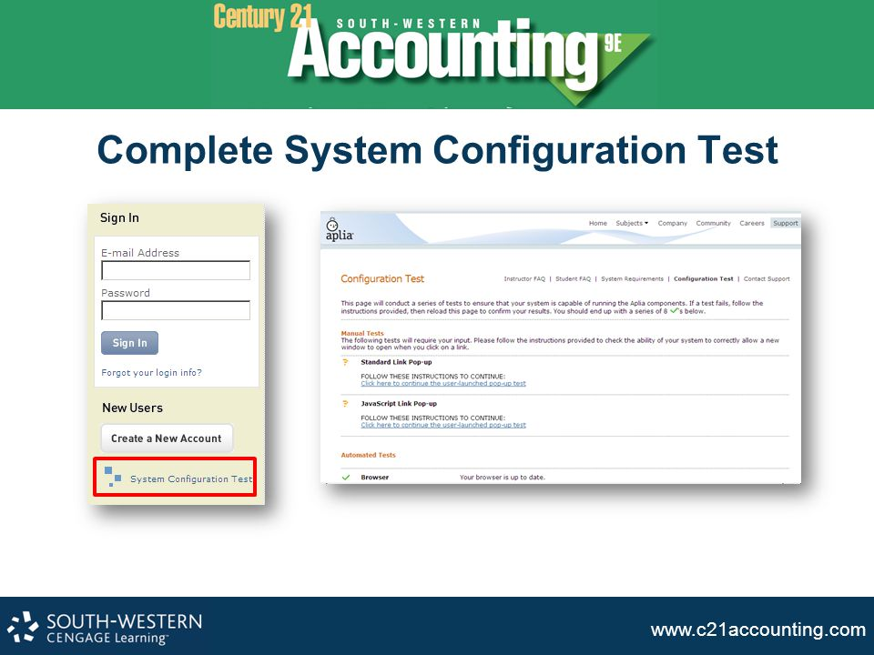 Complete System Configuration Test