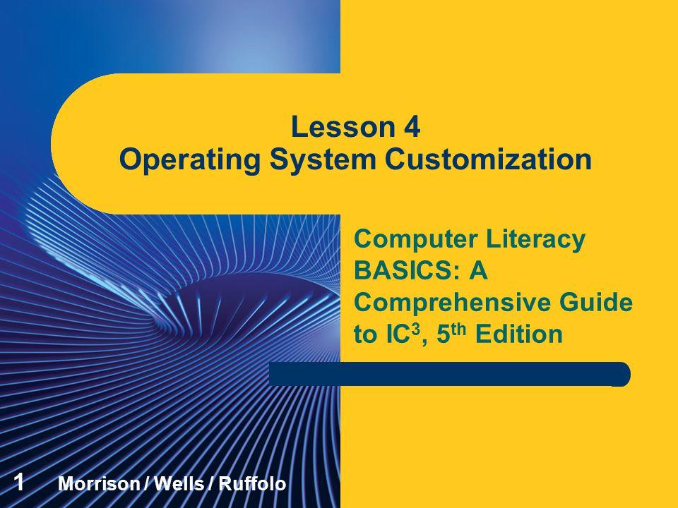 Lesson 4 Operating System Customization