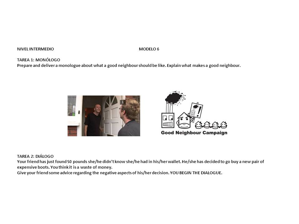 NIVEL INTERMEDIO MODELO 6