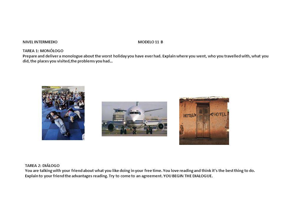NIVEL INTERMEDIO MODELO 11 B