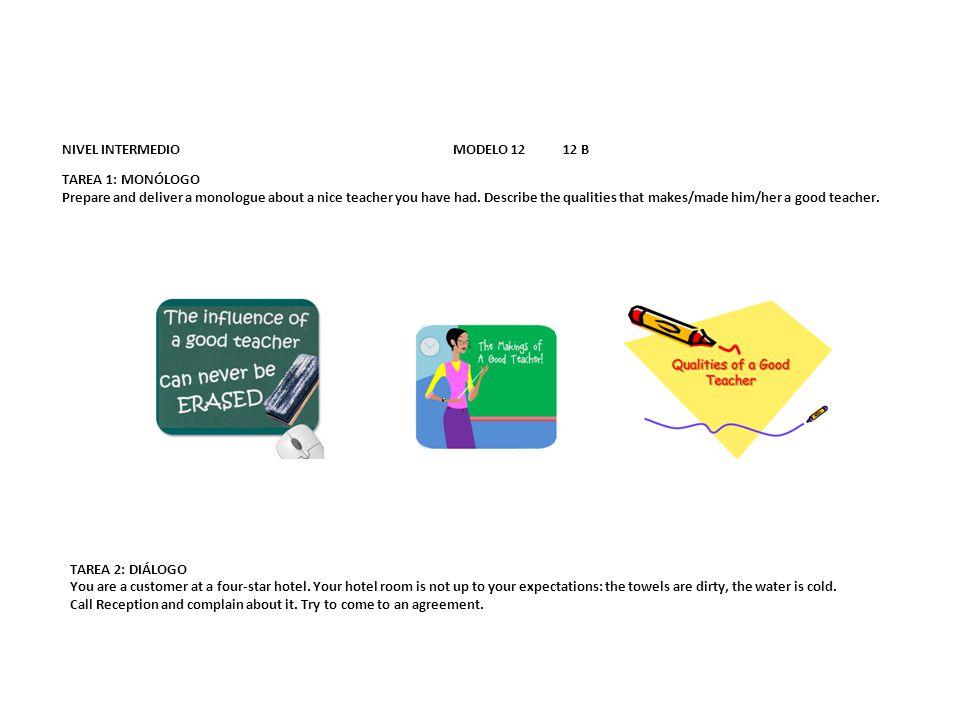 NIVEL INTERMEDIO MODELO 12 12 B