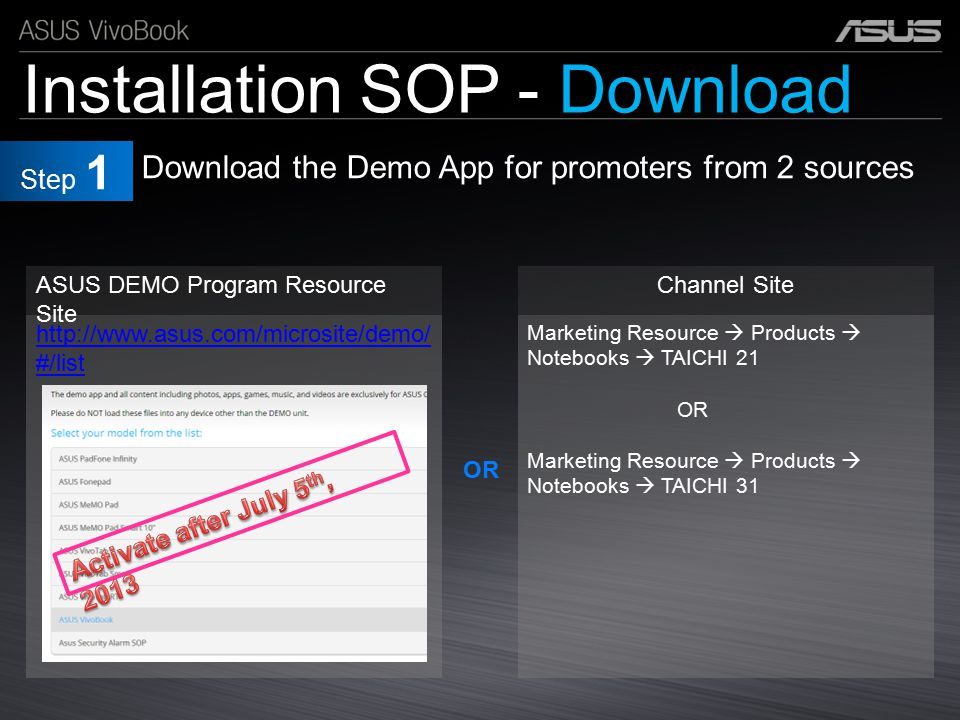 Installation SOP - Download