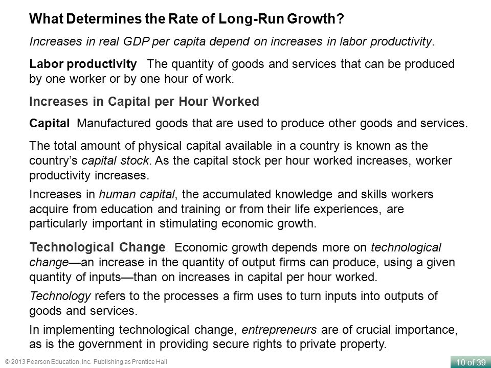 What Determines the Rate of Long-Run Growth