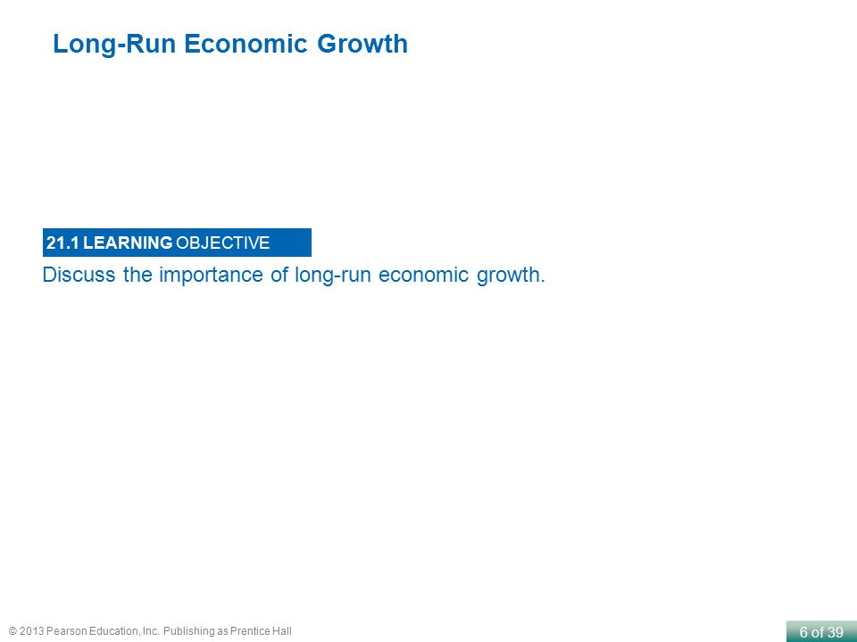 Long-Run Economic Growth