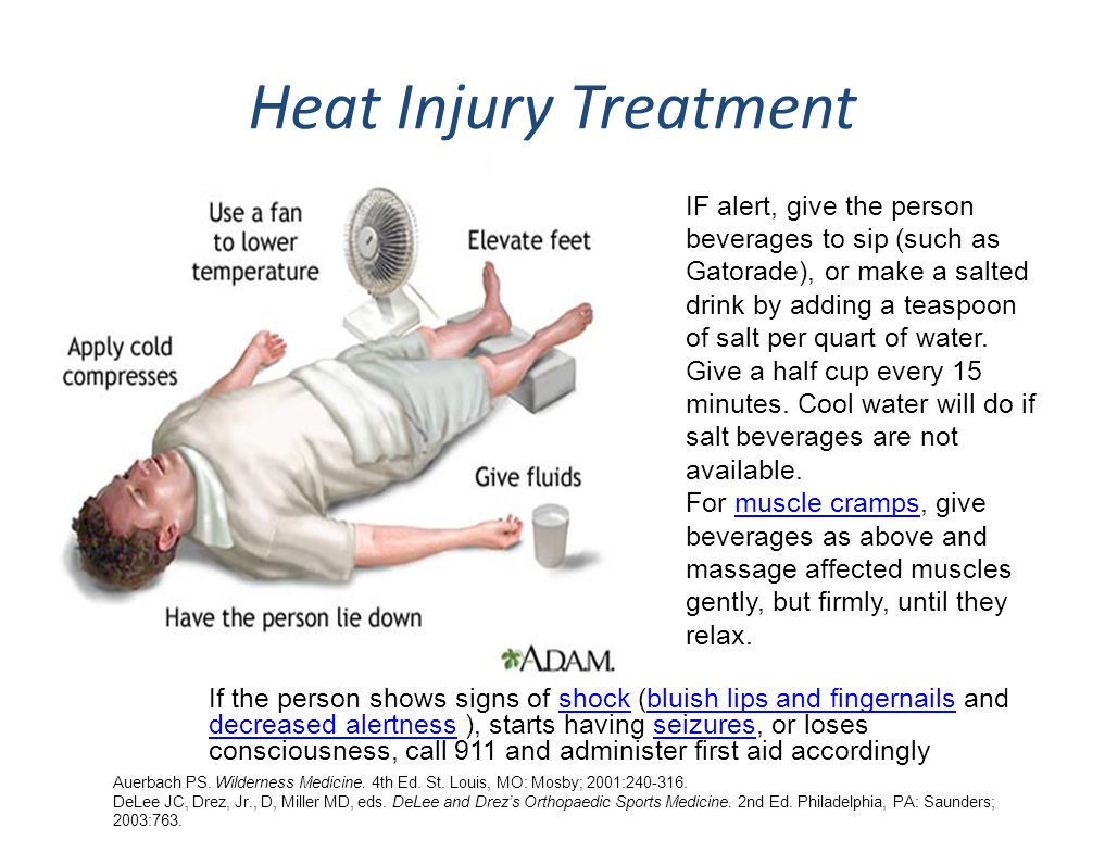 Causes Causes common causes of heat emergencies: